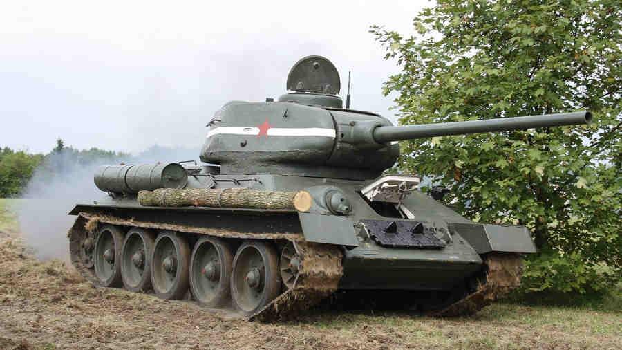 О танке Т-34